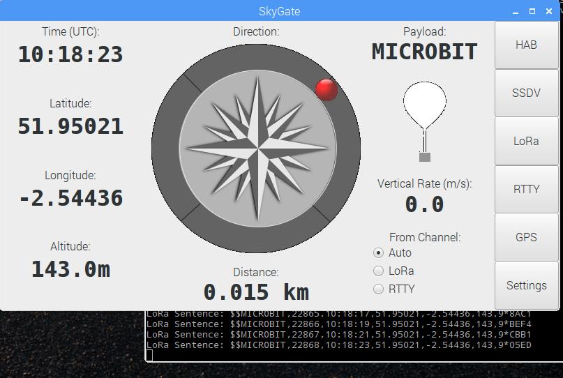 BBC Microbit Balloon Tracker | Dave Akerman